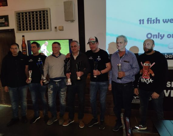 2019 Cyprus Bass Tournament Award Ceremony – 04/12/2019