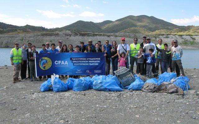 Kalavasos Dam Clean-Up – 09/04/2017